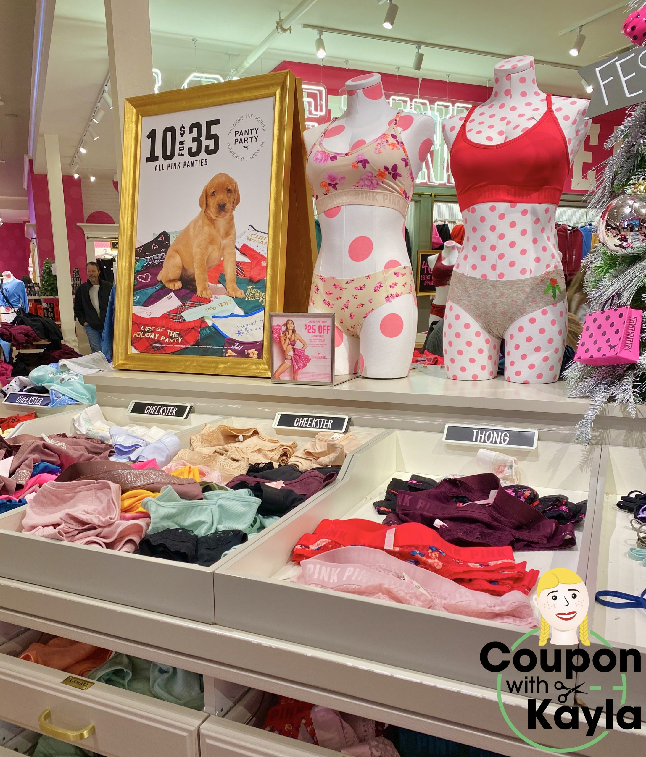 Victoria S Secret 10 For 35 Panties Coupon With Kayla