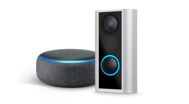 Amazon echo and ring peephole cam bundle sale amazon