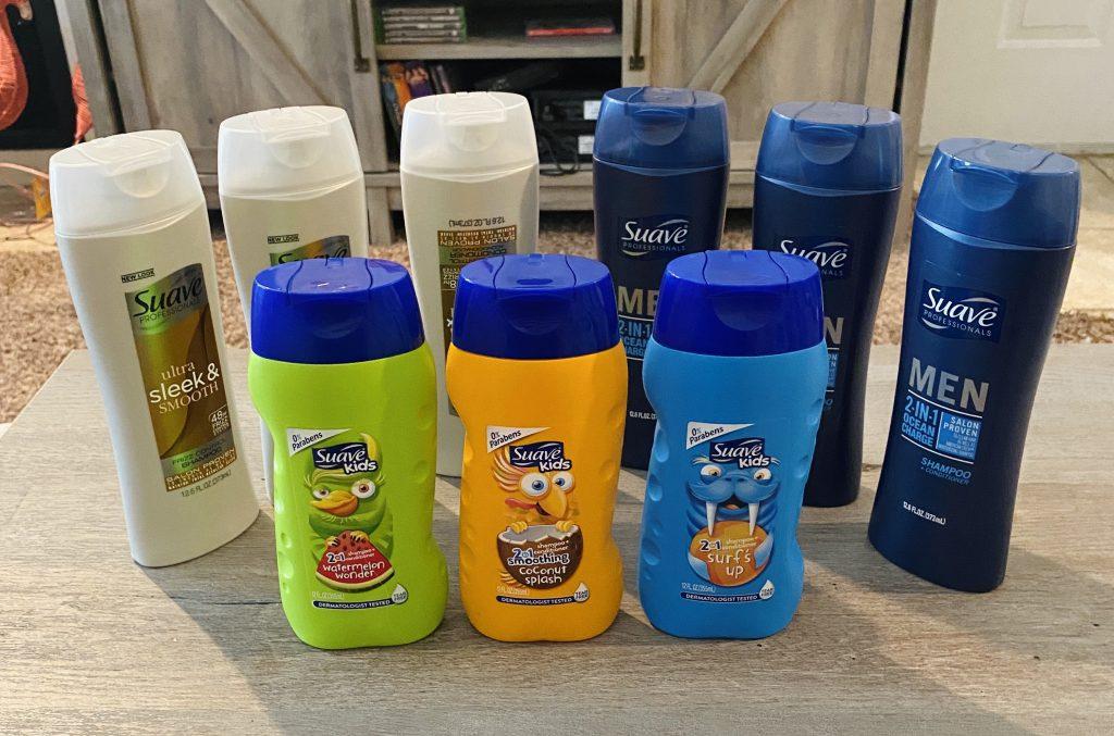 HEB haul suave shampoo free ibotta deal