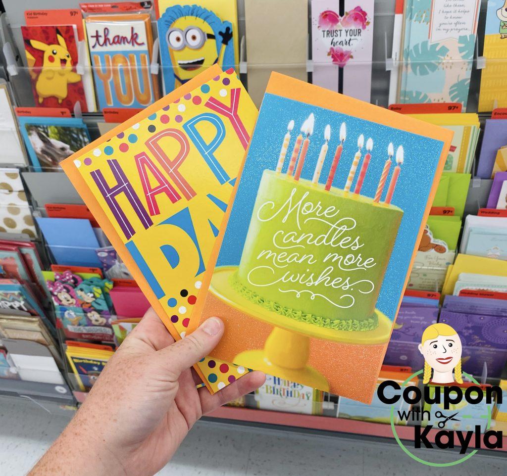 Walmart Hallmark cards deal ibotta freebie